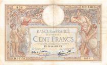 France 100 Francs Luc Olivier Merson - 20-10-1938 Série D.61153 - TTB