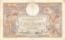 France 100 Francs Luc Olivier Merson - 21-10-1937 Série N.55935 - TTB
