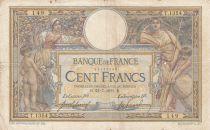 France 100 Francs Luc Olivier Merson - 22-07-1911 Série T.1354