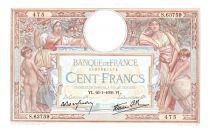 France 100 Francs Luc Olivier Merson - 22-09- 1938 Série E.60674