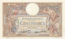France 100 Francs Luc Olivier Merson - 24-03-1932 -  Série A.34653