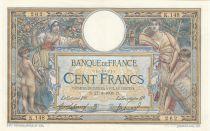 France 100 Francs Luc Olivier Merson - 27-03-1908 Série K.148