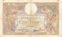 France 100 Francs Luc Olivier Merson - 27-05-1938 Série Z.59313 - TB