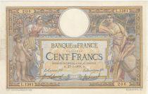 France 100 Francs Luc Olivier Merson - 27-07-1911 Série L.1361 - B à TB