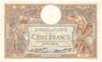 France 100 Francs Luc Olivier Merson - 30-04-1931 Série L.30132 - TTB