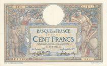 France 100 Francs Luc Olivier Merson - 30-08-1924 Série E.11115 - SUP