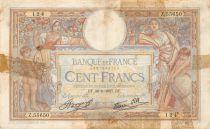France 100 Francs Luc Olivier Merson - 30-09-1937 Série Z.55650 - B+