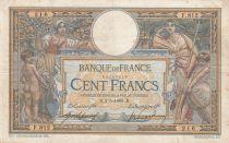 France 100 Francs Luc Olivier Merson - avec LOM - 03-05-1909 Série F.812