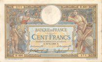 France 100 Francs Luc Olivier Merson - avec LOM - 14-10-1908 Série H.480 - TTB