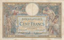 France 100 Francs Luc Olivier Merson - avec LOM - 1908 Série H.553