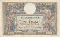 France 100 Francs Luc Olivier Merson - avec LOM - 21-07-1908 Série M.335 - TB