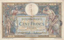 France 100 Francs Luc Olivier Merson - avec LOM 10-01-1908 - Série U.16 - B