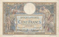 France 100 Francs Luc Olivier Merson - avec LOM 28-11-1908 - Série B.556 - TB+