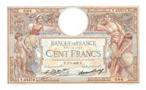 France 100 Francs Luc Olivier Merson - Grandes Cartouches - 02-07-1929