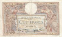 France 100 Francs Luc Olivier Merson - Grands Cartouches - 02-02-1939 Série A.64160