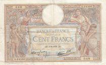 France 100 Francs Luc Olivier Merson - Grands Cartouches - 02-02-1939 Série A.64160