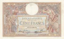 France 100 Francs Luc Olivier Merson - Grands Cartouches - 02-02-1939 Série G.64147