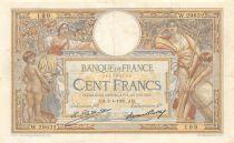 France 100 Francs Luc Olivier Merson - Grands Cartouches - 02-04-1931 Série W.29832 - TTB