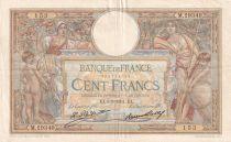 France 100 Francs Luc Olivier Merson - Grands Cartouches - 05-03-1931 - Série M.29349 - TTB