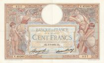 France 100 Francs Luc Olivier Merson - Grands Cartouches - 05-07-1934 Série V.45263