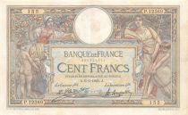 France 100 Francs Luc Olivier Merson - Grands Cartouches - 06-06-1925 Série P.12369 - TTB