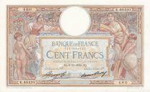 France 100 Francs Luc Olivier Merson - Grands Cartouches - 08-11-1934 Série K.46420