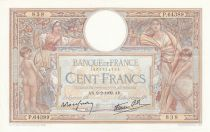 France 100 Francs Luc Olivier Merson - Grands Cartouches - 09-02-19399 Serial P.64389
