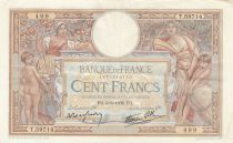 France 100 Francs Luc Olivier Merson - Grands Cartouches - 09-06-1938 Série T.59714