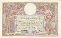 France 100 Francs Luc Olivier Merson - Grands Cartouches - 09-06-1938 Série T.59714