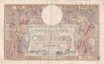 France 100 Francs Luc Olivier Merson - Grands Cartouches - 09-12-1937 - Série P.56324 - TB
