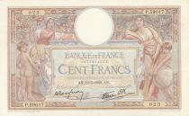 France 100 Francs Luc Olivier Merson - Grands Cartouches - 12-05-1938 Série P.59017