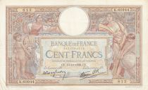 France 100 Francs Luc Olivier Merson - Grands Cartouches - 13-10-1938 Série K.60944