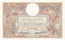 France 100 Francs Luc Olivier Merson - Grands Cartouches - 14-06-1934 Série S.45149