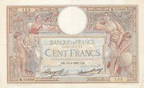 France 100 Francs Luc Olivier Merson - Grands Cartouches - 15-04-1937 Série M.53568