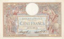 France 100 Francs Luc Olivier Merson - Grands Cartouches - 15-04-1937 Série M.53568