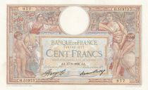 France 100 Francs Luc Olivier Merson - Grands Cartouches - 17-09-1936 Série H.51973