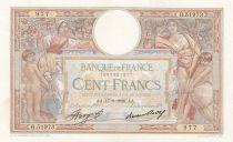 France 100 Francs Luc Olivier Merson - Grands Cartouches - 17-09-1936 Série H.51973