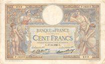 France 100 Francs Luc Olivier Merson - Grands Cartouches - 17-12-1926 Série P.16355 - TTB