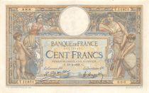 France 100 Francs Luc Olivier Merson - Grands Cartouches - 18-02-1925 Série T.11871-888 - TTB