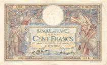 France 100 Francs Luc Olivier Merson - Grands Cartouches - 18-12-1923 Série H.10083 - TTB