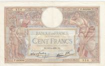 France 100 Francs Luc Olivier Merson - Grands Cartouches - 19-05-1939 - Série P.66998