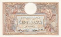France 100 Francs Luc Olivier Merson - Grands Cartouches - 22-03-1934 Série W.44283