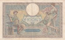 France 100 Francs Luc Olivier Merson - Grands Cartouches - 24-06-1926 Série O.14639 - TB+