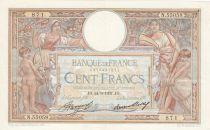 France 100 Francs Luc Olivier Merson - Grands Cartouches - 24-06-1937 Série N.55058