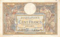 France 100 Francs Luc Olivier Merson - Grands Cartouches - 25-05-1926 Série K.14326 - TTB