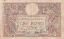 France 100 Francs Luc Olivier Merson - Grands Cartouches - 26-01-1939 - Série B.63358 - TB+
