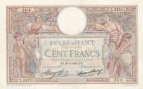 France 100 Francs Luc Olivier Merson - Grands Cartouches - 27-05-1937 Série X.54251