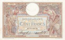France 100 Francs Luc Olivier Merson - Grands Cartouches - 27-09-1934 Série P.46054
