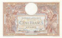 France 100 Francs Luc Olivier Merson - Grands Cartouches - 27-10-1938 Série T.61907