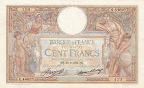 France 100 Francs Luc Olivier Merson - Grands Cartouches - 29-03-1934 Série Q.44628